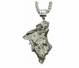 Giant Campo Meteorite Cross Like Jewelry Mens for Sale