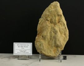Large Shatter Cone Glover Bluff Wisconsin - Rare!