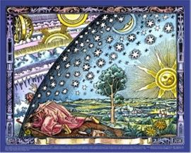 "Infinity Flammarion Universe Poster 24"" X 30"""