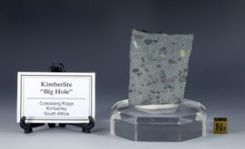 "Kimberlite ""Big Hole"" South Africa Diamond Mine XRF Provided"