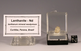 Lanthanite Lanthanum Mineral - New!