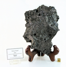 Museum Quality Lava from Hawaii Very Large Hand Specimen