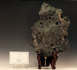 Lava from Hawaii Very Large Hand Specimen