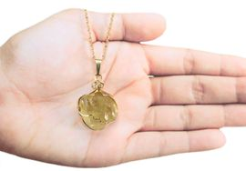Libyan Desert Glass Jewelry 14k Gold - New!