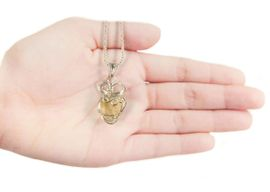 Libyan Desert Glass Jewelry Pendant Necklace Sterling Silver - Sold!