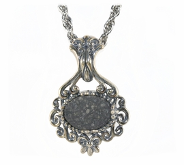 Allende Meteorite Jewelry Pendant Necklace NEW