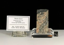 Morton Gneiss Minnesota Oldest Rocks on Earth