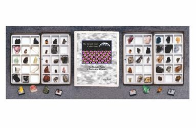 Grand Tour Periodic Table Elements Mineral Collection