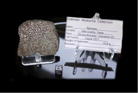 Plainview Meteorite for Sale