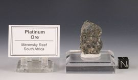 Platinum Ore Merensky Reef South Africa