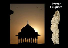"""Prayer"" Lightning Sand Fulgurite"