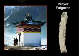Prayer Lightning Sand Fulgurite Larger