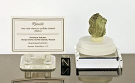 Rheniite Mineral Containing Rhenium - Sold!