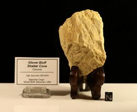 Shatter Cone Glover Bluff Wisconsin - New!