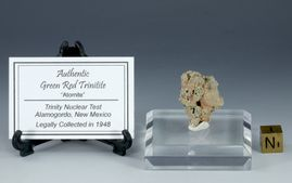 Red Green Trinitite Larger Atomite - New!