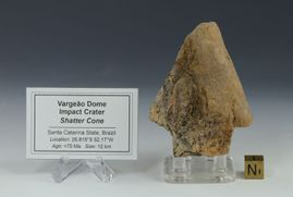 Vargeao Dome Impact Crater Shatter Cone Brazil