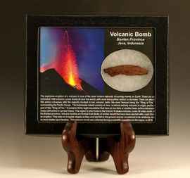 Volcanic Bomb Java Indonesia