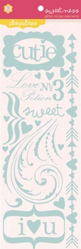 1SYT Sweetness: Glitter Sticker Elements