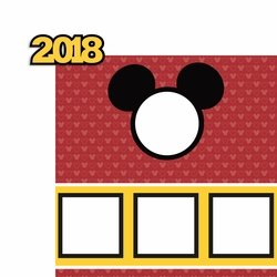 2018 Mickey Page Layout