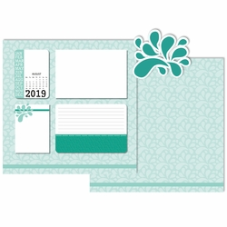 2019 All Year: August 3 Piece Laser Die Cut Kit