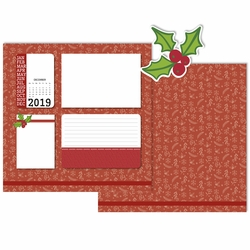 2019 All Year: December 3 Piece Laser Die Cut Kit