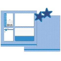 2019 All Year: July 3 Piece Laser Die Cut Kit