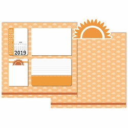 2019 All Year: June 3 Piece Laser Die Cut Kit