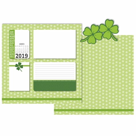 2019 All Year: March 3 Piece Laser Die Cut Kit