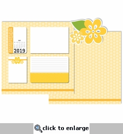 2019 All Year: May 3 Piece Laser Die Cut Kit