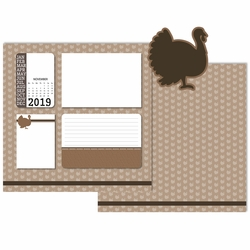 2019 All Year: November 3 Piece Laser Die Cut Kit