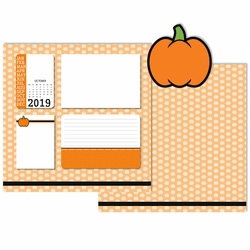 2019 All Year: October 3 Piece Laser Die Cut Kit