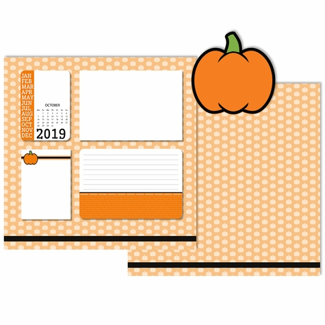 2SYT 2019 All Year: October 3 Piece Laser Die Cut Kit