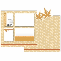 2019 All Year: September 3 Piece Laser Die Cut Kit