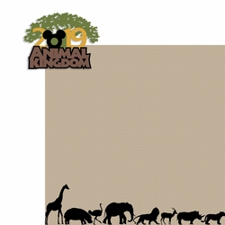 2019 Animal Kingdom Memories 2 Piece Laser Die Cut Kit