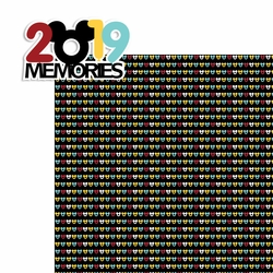 2SYT 2019 Memories 2 Piece Laser Die Cut Kit