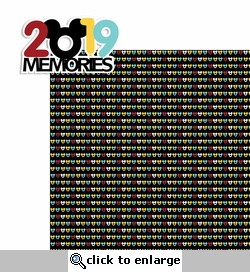 2019 Memories 2 Piece Laser Die Cut Kit