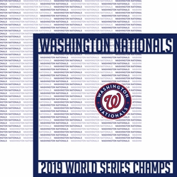 2SYT 2019 Washington Nationals Champs 12 x 12 Overlay Quick Page