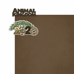 2020 Dis World: Animal Kingdom 2 Piece Print and Cut Kit