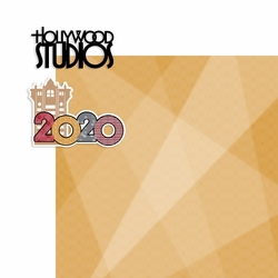 2020 Dis World: Hollywood Studios 2 Piece Print and Cut Kit