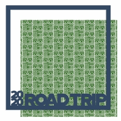 2020 Road Trip 12 x 12 Overlay Quick Page Laser Die Cut