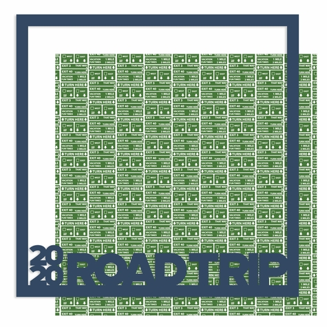 2SYT 2020 Road Trip 12 x 12 Overlay Quick Page Laser Die Cut