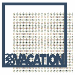 2020 Vacation 12 x 12 Overlay Quick Page Laser Die Cut