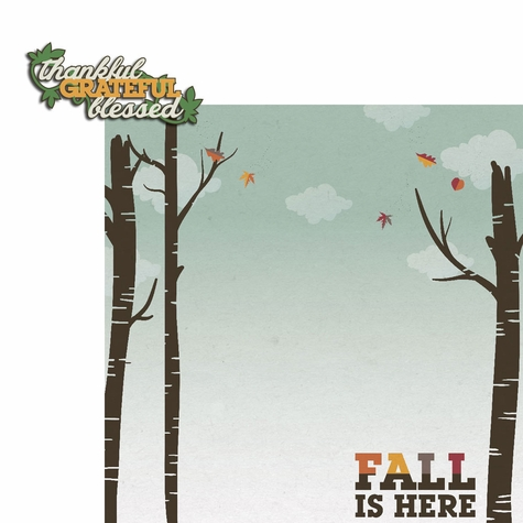 2SYT Hello Fall: Thankful 2 Piece Laser Die Cut Kit
