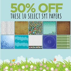 50% off these 10 Select SYT Papers