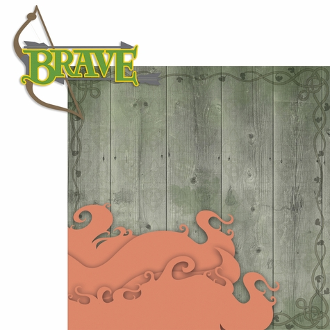 A Bunch of Character: Brave 2 Piece Laser Die Cut Kit
