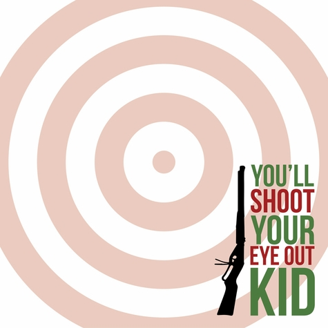 A Christmas Story: Shoot Your Eye Out 12 x 12 Paper