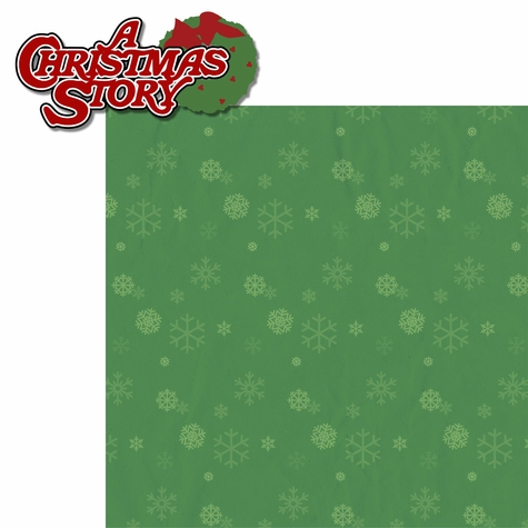 A Christmas Story: Wreath 2 Piece Laser Die Cut Kit