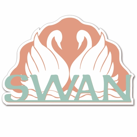 2SYT A Magical Stay: The Swan Laser Die Cut
