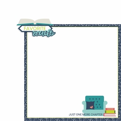 About Me: Favorite Reads 2 Piece Laser Die Cut Kit