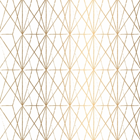 Abstract Gold Diamond 12 x 12 Paper